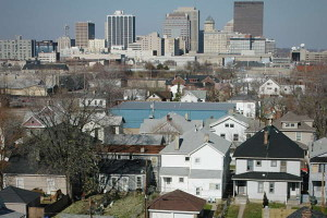 View of downtown Dayton
